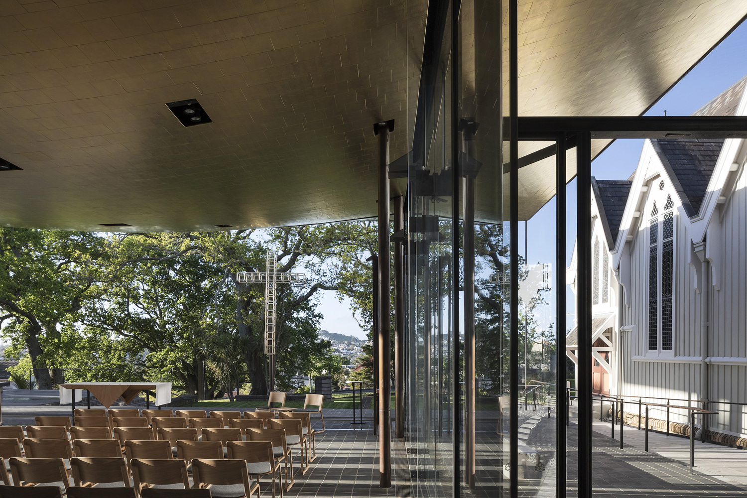 塞尔温主教教堂 Bishop Selwyn Chapel丨Fearon Hay Architects