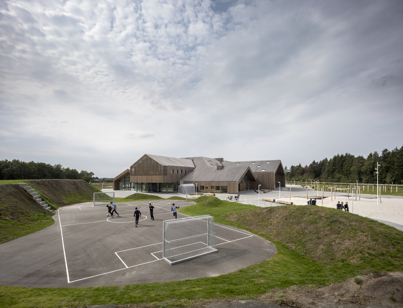 'The Heart' 校园之心丨C.F. Møller Architects
