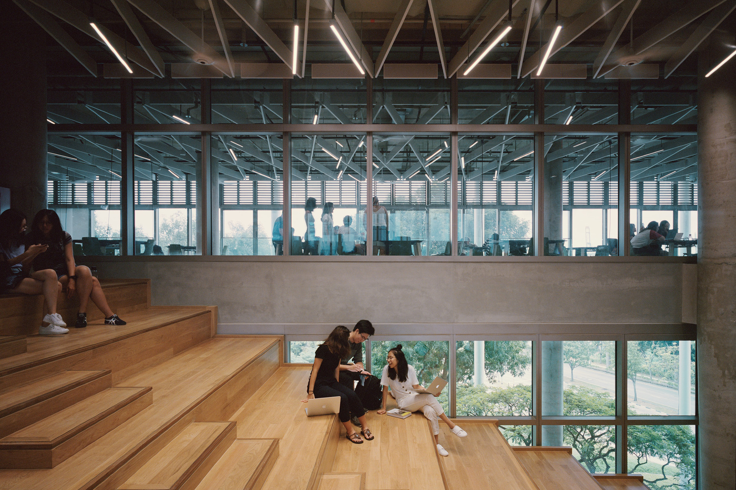 新加坡国立大学设计与环境学院丨Serie Architects + Multiply Architects + Surbana Jurong