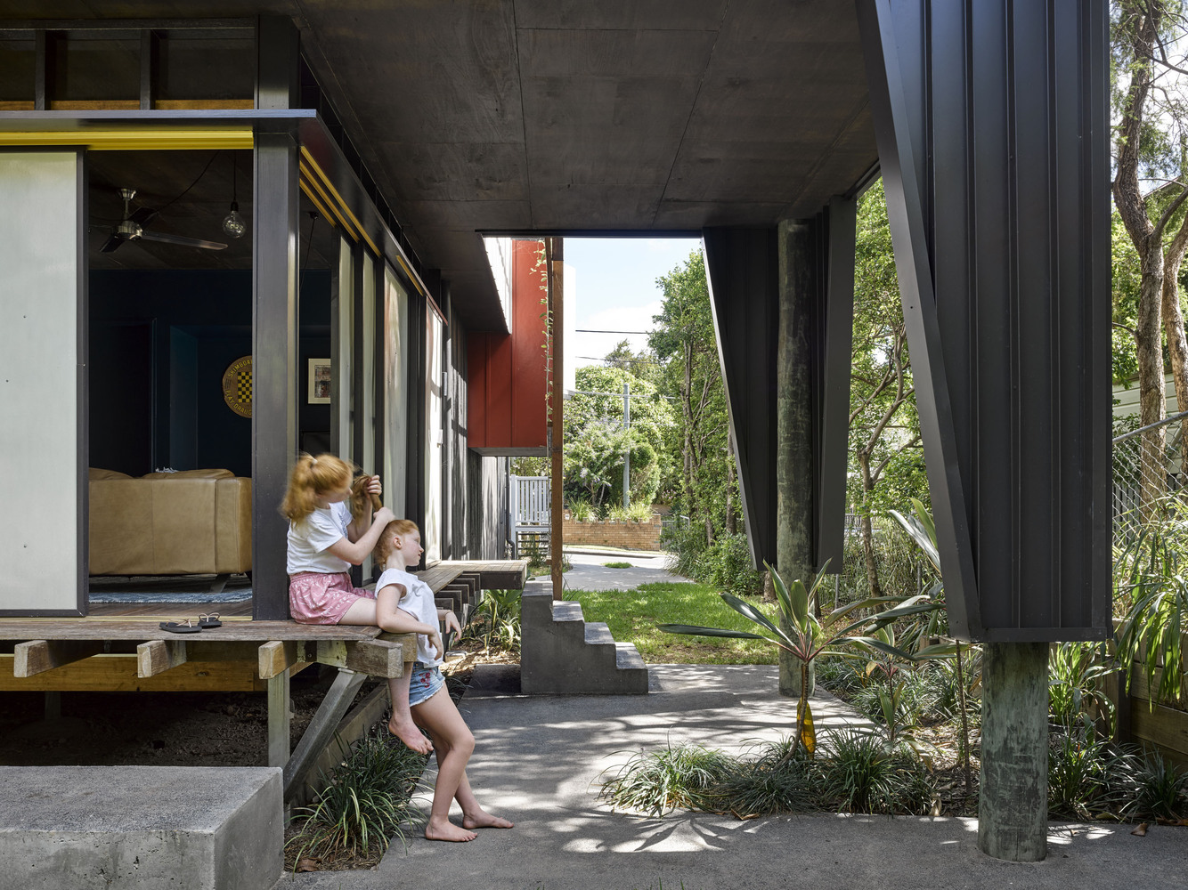 Harriet之家,翻修打造最具生活气息住宅丨Bligh Graham Architects